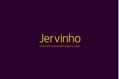 Jervinho Typeface
