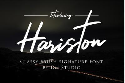Hariston - Classy Signature Brush