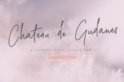 Chateau de Gudanes Script Font