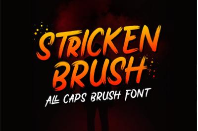 Stricken Brush