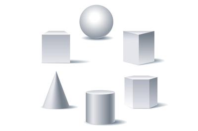 Geometric 3d figures