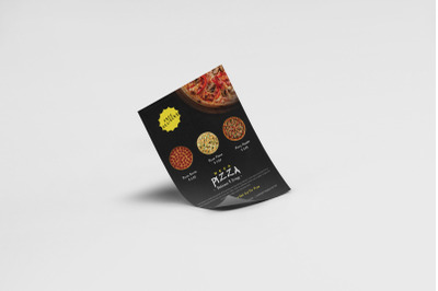 A4 - A5 Pizza Restaurant Advertising Flyer