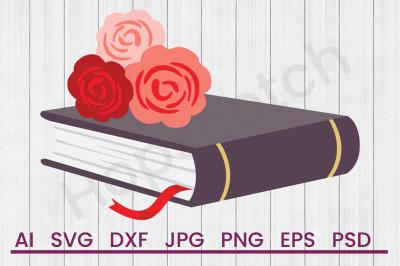 Romance Novel - SVG File, DXF File