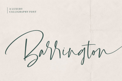 Barrington Font