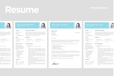 Resume Template match With Cover Letter
