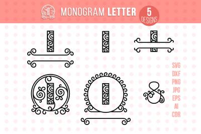 Monogram Letter I