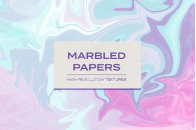Marbled Papers Textures