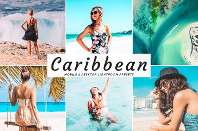 Caribbean Mobile & Desktop Lightroom Presets