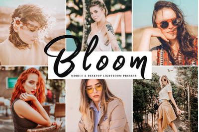 Bloom Mobile & Desktop Lightroom Presets