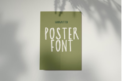 Poster Font