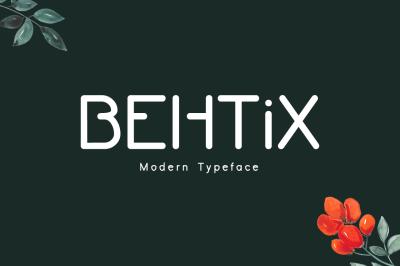 Behtix Typeface