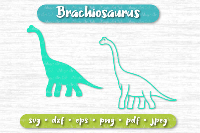 Dinosaur svg, Brachiosaurus svg, Diplodocus svg, Dinosaur party svg