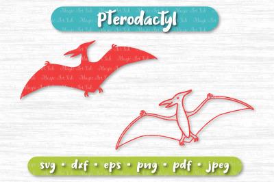 Dinosaur svg, Pterodactyl svg, Cute dinosaur svg, Dinosaur party svg