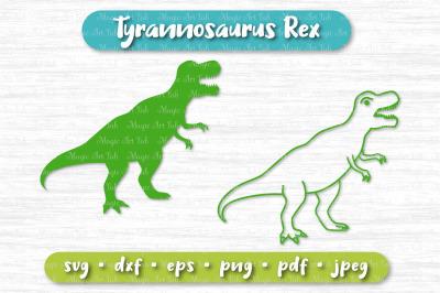 Dinosaur svg, T Rex svg, Tyrannosaurus rex svg, Dinosaur party