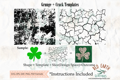 Grunge template,crack template,distressed template SVG,PNG,EPS,DXF