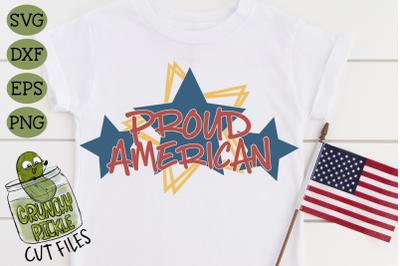 Proud American Patriotic SVG