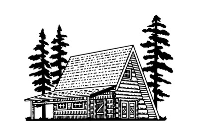 A Frame Lodge