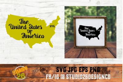 USA - State Nickname & EST Year - 2 Files - SVG PNG EPS
