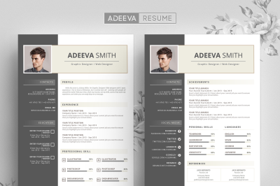 Professional Resume Template Smith