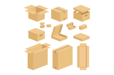 Carton box pack set