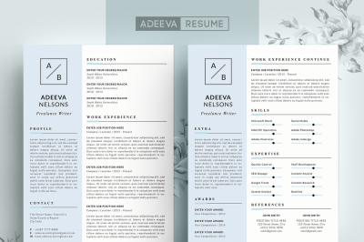 Simple Resume Template Nelson