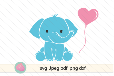 Baby elephant svg, baby svg vector clipart
