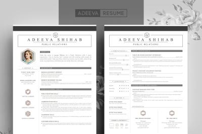 Modern Resume Template Shihab