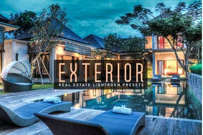 Exterior  Real Estate Lightroom Presets
