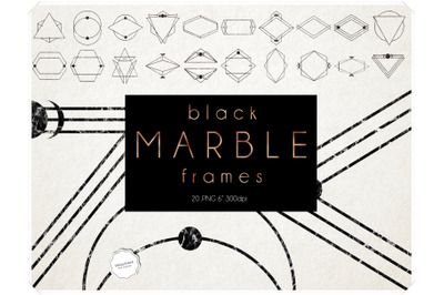 Marble Frames Clipart