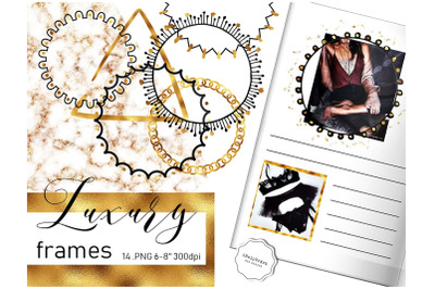 Luxury Digital Frames Clipart
