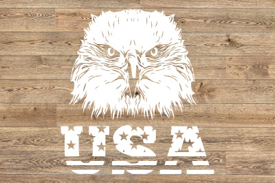 Eagle Usa Flag Svg fourth USA birds united states 4th of July 1407s