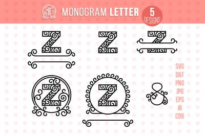 Monogram Letter Z