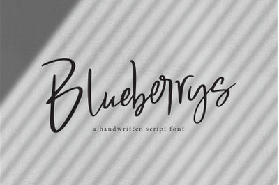 Blueberrys Signatures