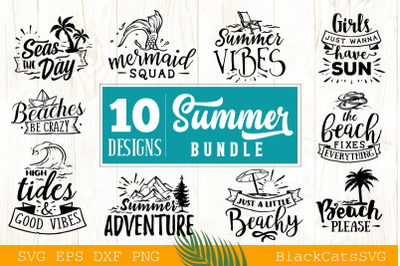 Summer Bundle SVG  10 designs