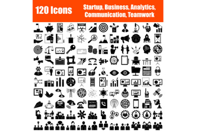 Set of 120 Icons