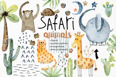 Safari animals. Kit.