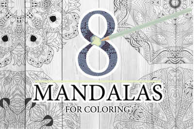 Mandalas for coloring10