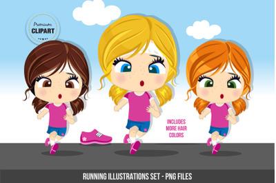 Fitness clipart, Sport illustrations