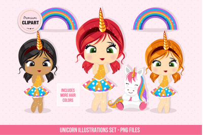 Unicorn clipart, Fairy tail graphics