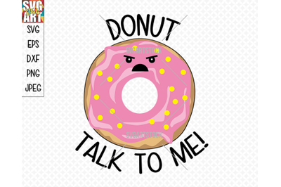 Donut Talk To Me!