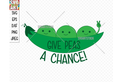 Give Peas A Chance!