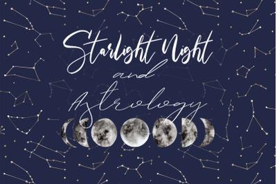 Starlight Night and Astrology Set