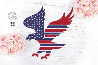 American Flag Eagle Design