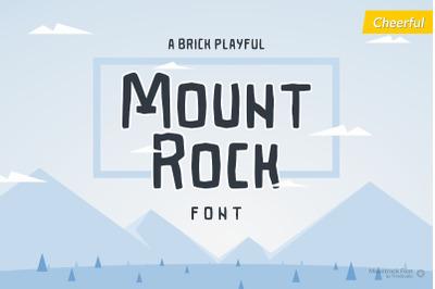 Mountrock - Summer Camp Font