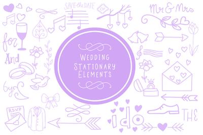 Wedding Stationary Elements