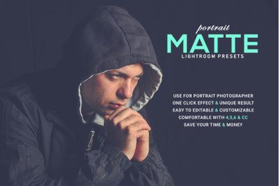 Portrait Matte Lightroom Presets