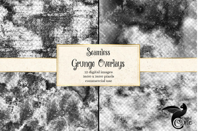 Seamless Grunge Overlays