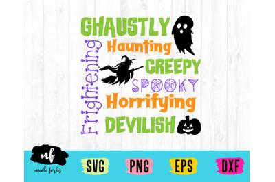 Halloween SVG Cut File