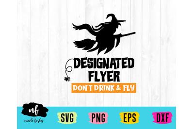 Designated Flyer SVG Cut File