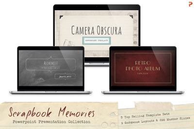Scrapbook Memories PPT Bundle
